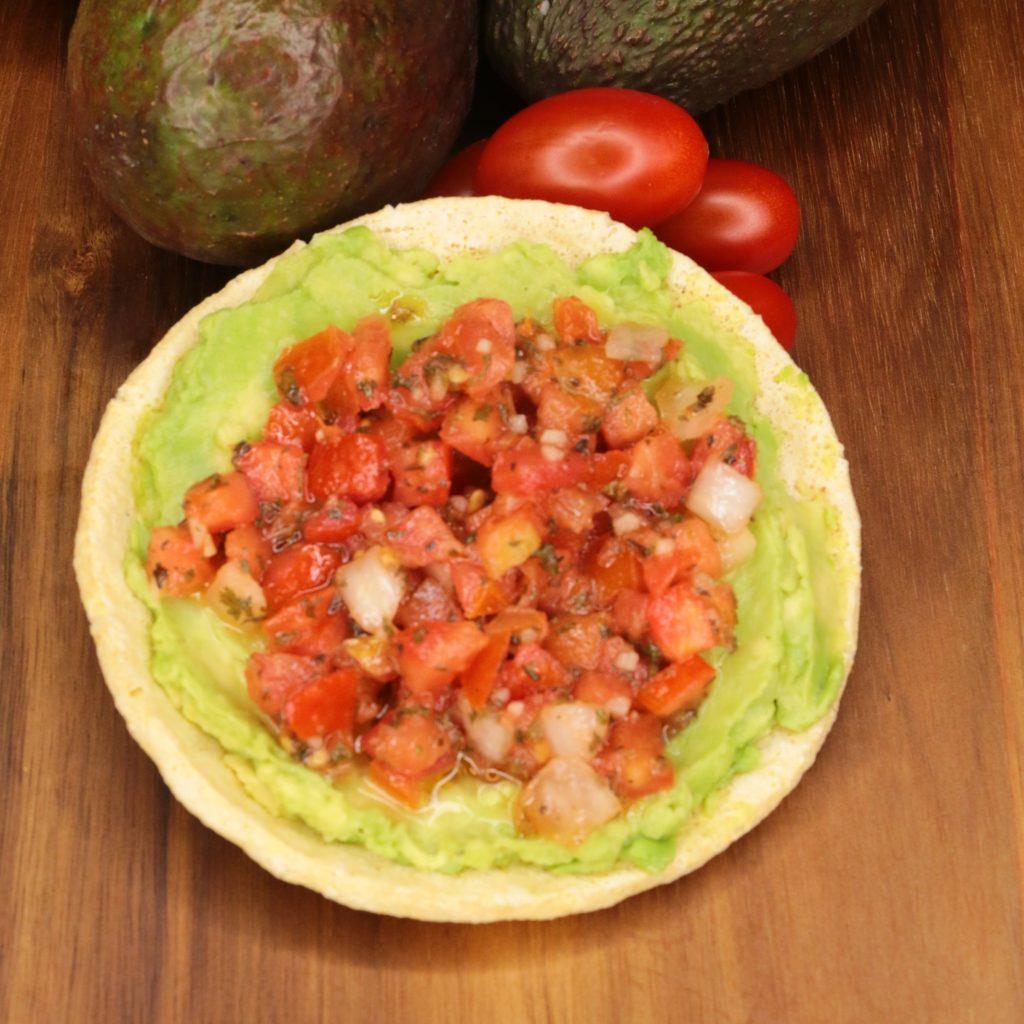 Lunch Ideas Avocado: Broghies Lunch Recipes: Bold Avocado Bruschetta